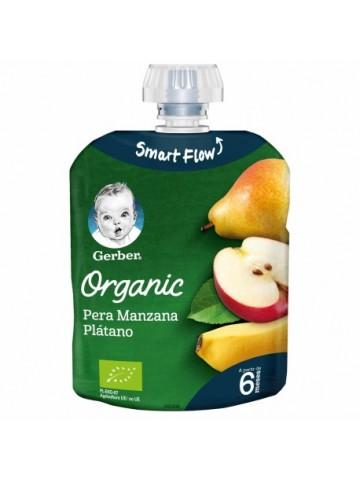 Gerber Organic Pera Manzana...