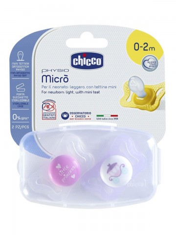 CHICCO Chupa Micro Silicona...